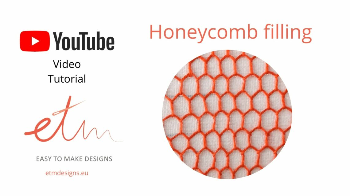 Honeycomb filling video tutorial cover