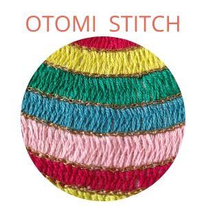 otomi stitch colorful